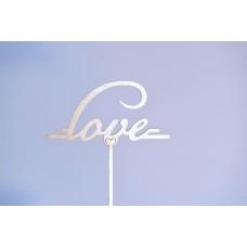 Топпер со словами LOVE 3